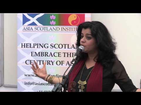 Sunita Bhuyan Asia Scotland Institute Music and Talk