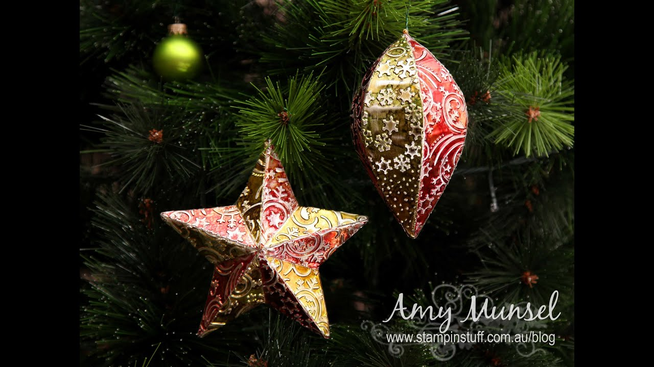 diy metal christmas baubles decorations - Metal Christmas Decorations
