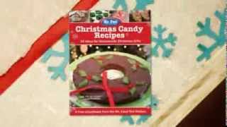 Christmas Candy Recipes: 24 Ideas for Homemade Christmas Gifts