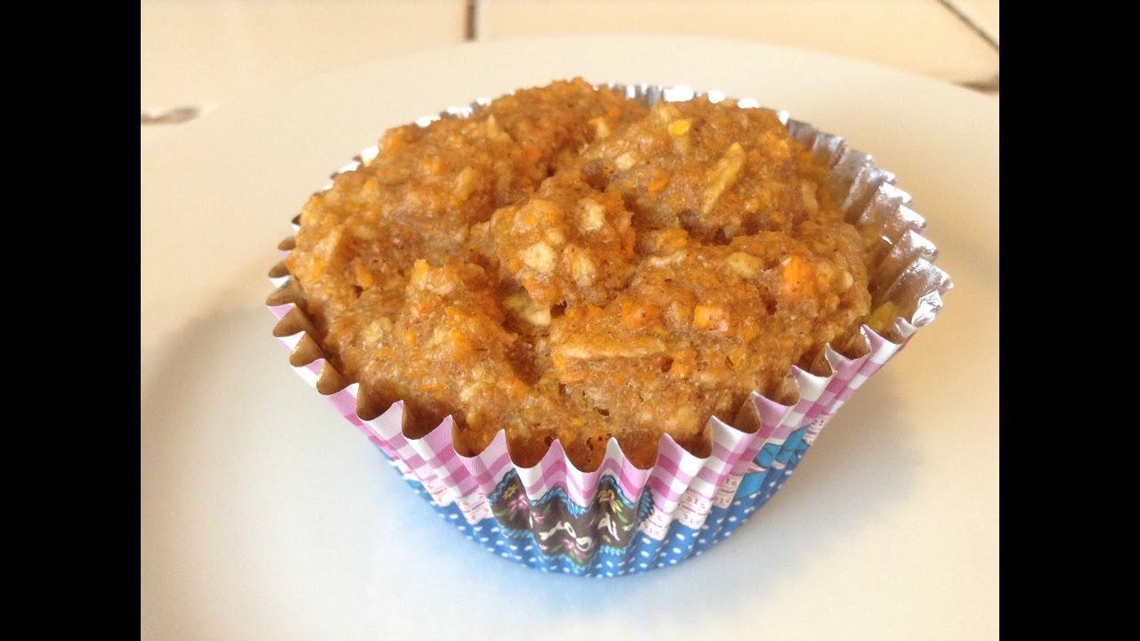 Eva S Vegane Apfel Karotten Muffins Youtube