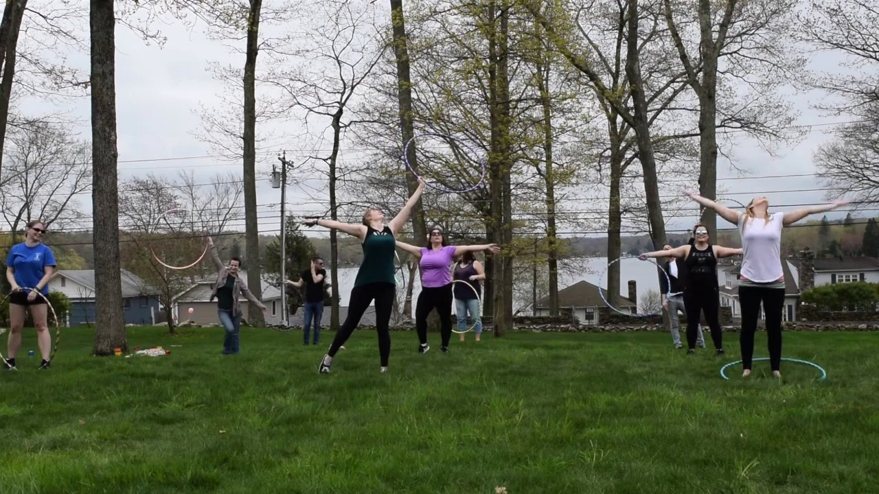 Beginner Hoop Dance Choreography | Hoop Dance Adult Party Fun
