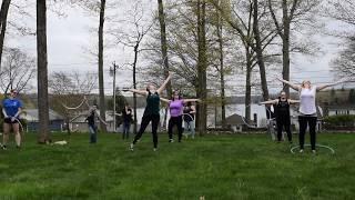 Beginner Hoop Dance Choreography   Hoop Dance Adult Party Fun