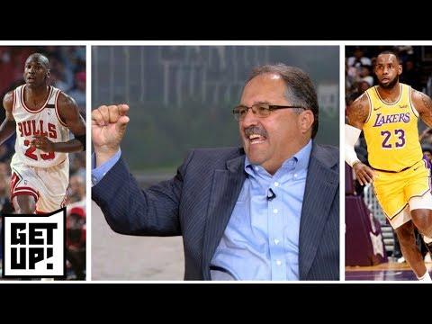 LeBron better than Jordan, according to Stan Van Gundy | Get Up!