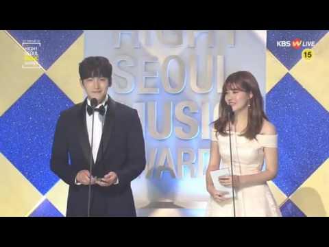 [ENG SUB] 20170119 26th Seoul Music Awards - Ji Chang Wook cut