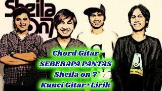 Kunci Gitar Lagu Seberapa Pantas-Sheila On 7-Chord dan Lirik