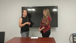 Alisha Wunderlich Interviews Courtney Miller Manager from the Business Enterprise Center