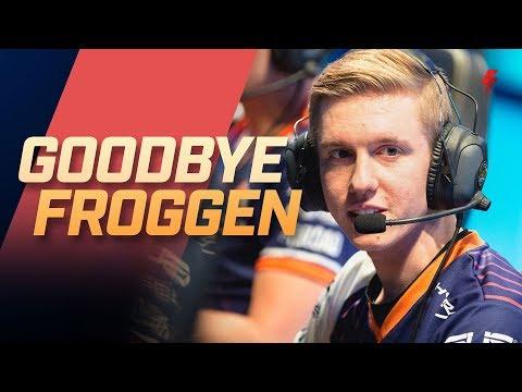Rick Fox Says Goodbye to Froggen - Blitz Feature