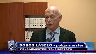 Dobos László polgármesteri tájékoztatója 20180308