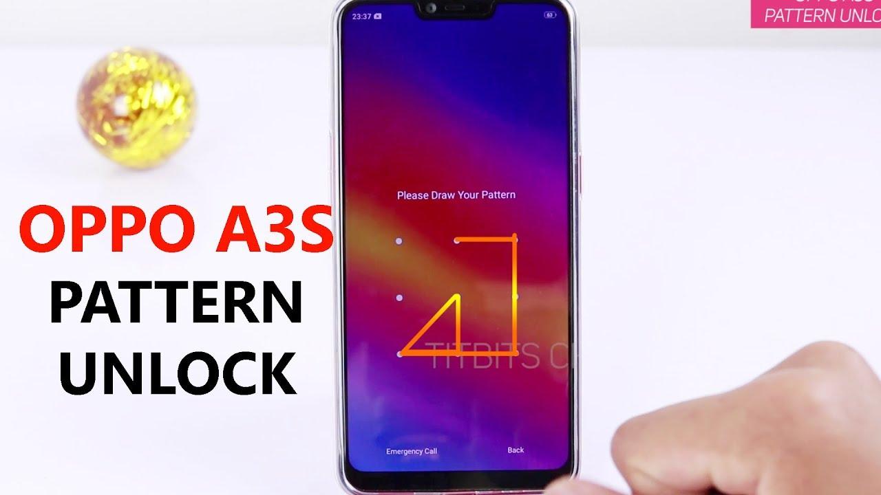 Oppo A3S Pattern Unlock Setup (हिन्दी)