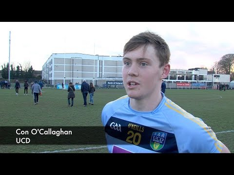 'Sweet' Sigerson win for Con O'Callaghan with UCD