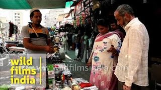 Plastic Kitchenware At A Roadside Market, Gandhi Road, Ahmedabad