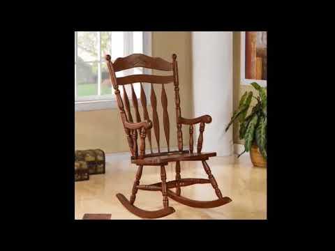 Wooden Rocking Chair Cushions For Nursery Stylish Modern Interior Decor