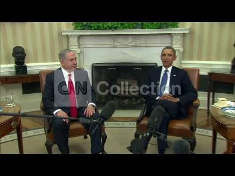 OBAMA-NETANYAHU MEETING PHOTO OP