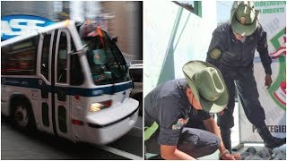 Police Raided A Bus To Investigate A Suspicious Box, And Its Contents Confirmed Their Worst Fears