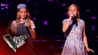 Holly & Emily Performs 'Someone Out There' | Blind Auditions | The Voice Kids UK 2019