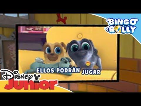 Bingo y Rolly: La casa de Bingo y Rolly en 360º   Disney Junior Oficial