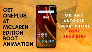 Hey there guys, we all love the oneplus 6t mclaren edition for its looks and that insane performance along with 10gb of ram. but i myself it wal...