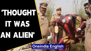 Iron man-shaped balloon triggers panic in UP's Greater Noida|Oneindia News