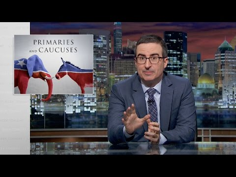 Primaries and Caucuses: Last Week Tonight with John Oliver (HBO)