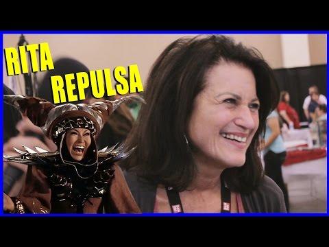 Barbara Goodson RITA REPULSA Power Rangers   Power Morphicon 2014
