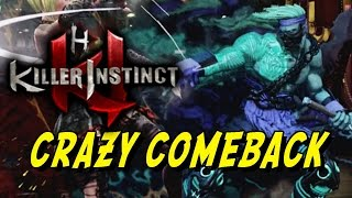 CRAZY COMEBACK: Killer Instinct - Online Ranked