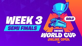 Fortnite World Cup Week 3 Semi-Finals