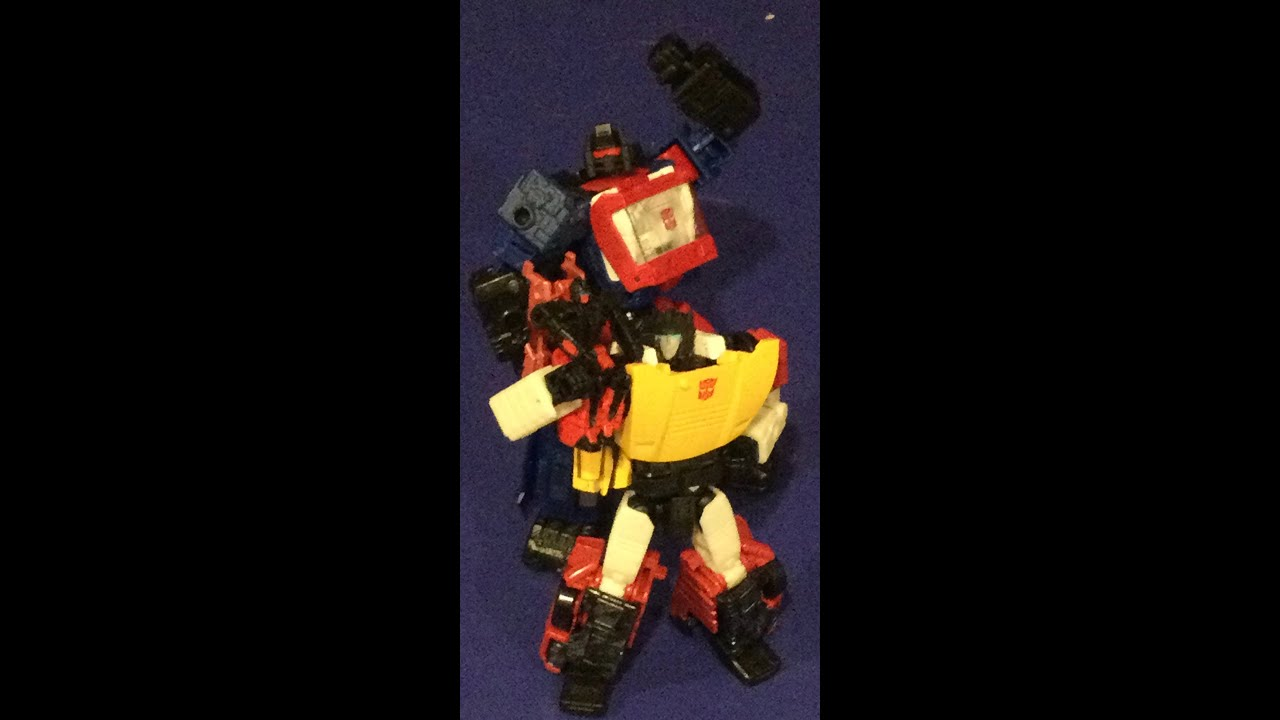 Transformers Sureshot Conversion Head on Shapeways by Master Farr