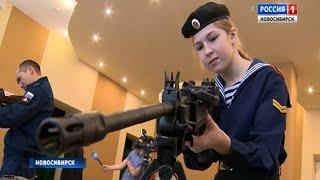 Новосибирцам показали военные трофеи, изъятые у сирийских боевиков