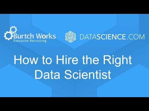 How to Hire the Right Data Scientist with DataScience.com