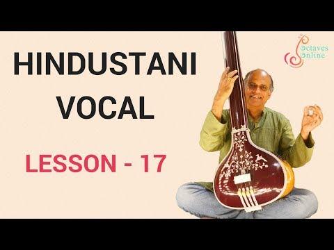 Hindustani Vocal - Lesson 17 - Introduction to Raag Jaunpuri/Jonpuri