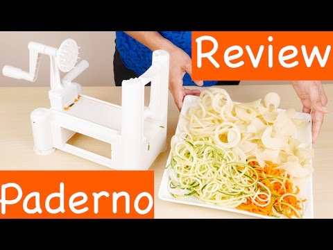 Paderno world cuisine a4982799 tri blade vegetable spiral - Paderno world cuisine spiral vegetable slicer ...