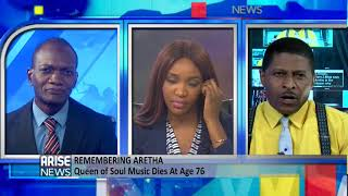 Arise News pays tribute to Aretha Franklin