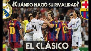 REAL MADRID vs BARCELONA: ASÍ NACIÓ La RIVALIDAD de EL CL�...