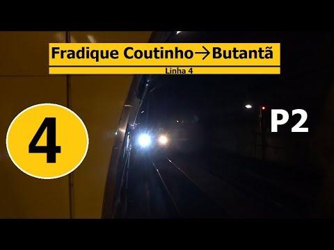 Metrô SP / São Paulo Subway / ViaQuatro Line 4 - Yellow P2/4