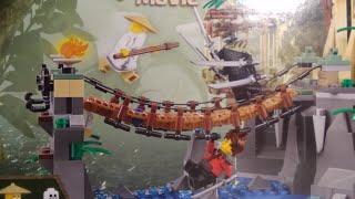 Обзор на Лего Ниндзяго фильм набор 70608 !!
