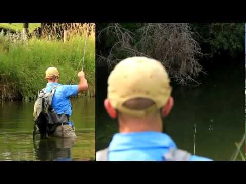 SUPERFINE HOPPERS - Orvis Superfine fly rods go hopper fishing