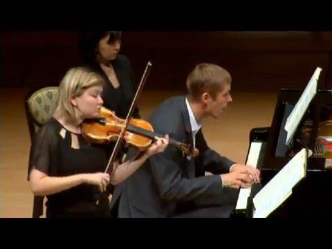 Alina Ibragimova & Cédric Tiberghien - extract from Mozart sonata for piano and violin KV379