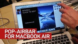 Go ahead, touch that MacBook Air screen