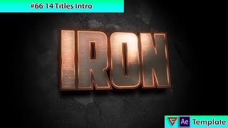 14 metal Intro Templates