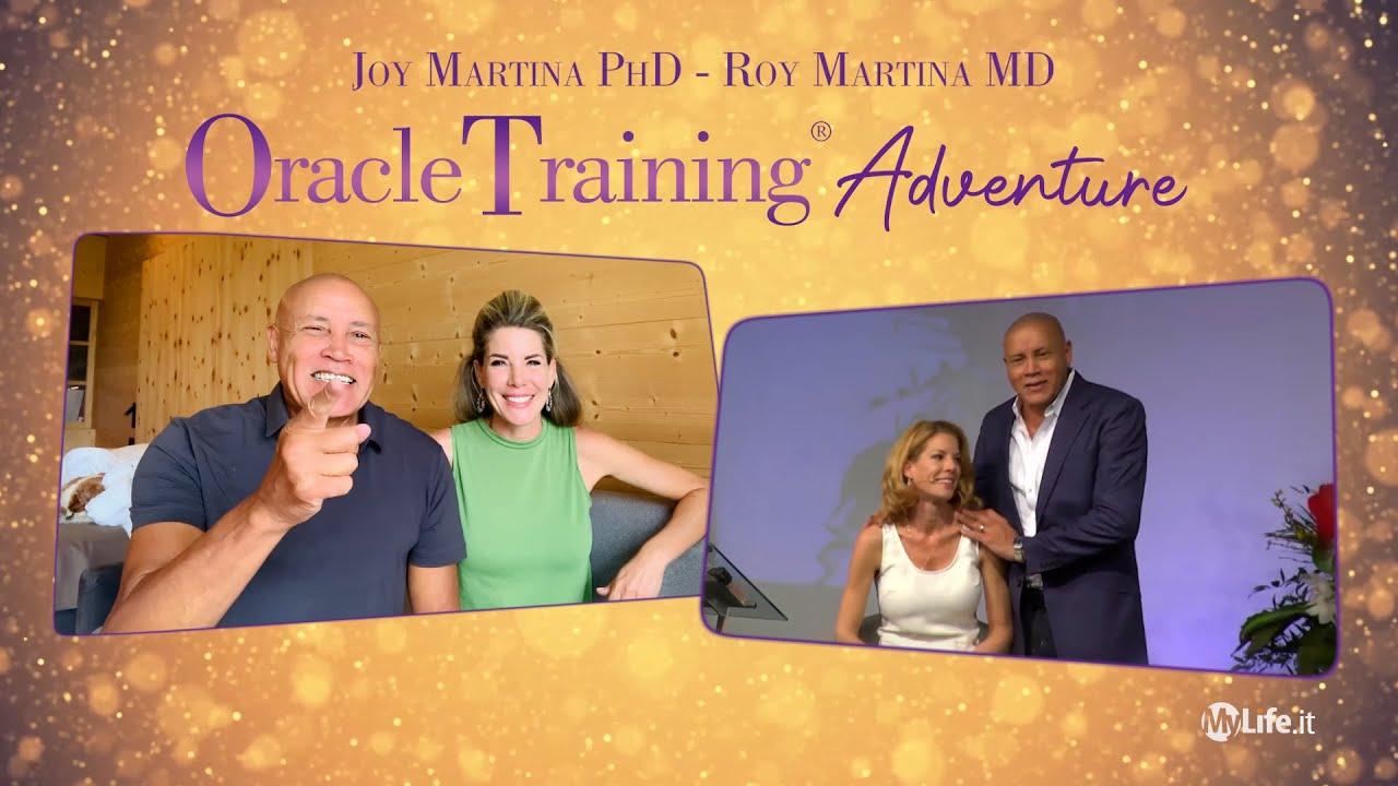 Joy e Roy Martina ti invitano all'Oracle Training Adventure