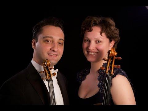 Mozart Sinfonia Concertante  Artur Kaganovskiy | Violin Eszter Kaganovskiy | Viola