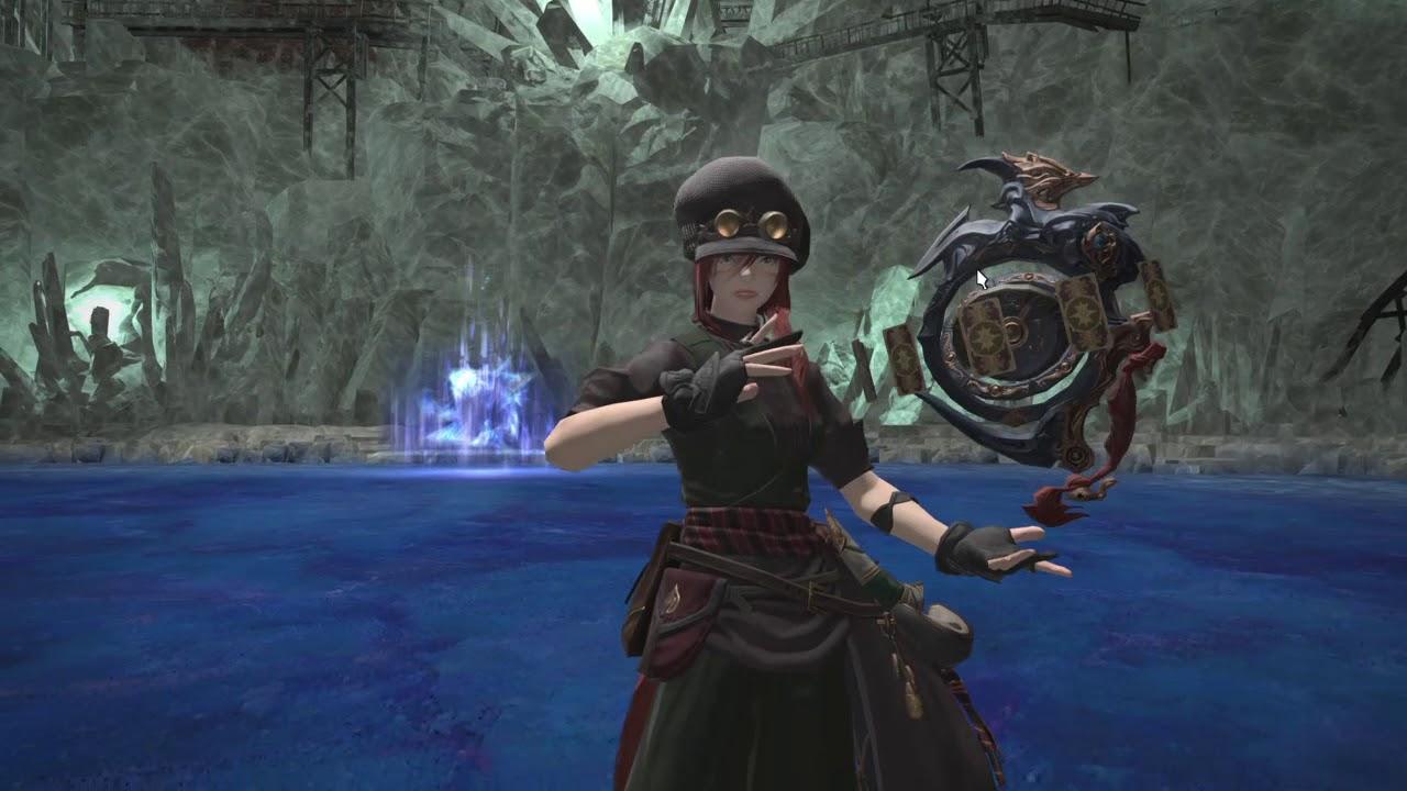 [FFXIV: Shadowbringers Patch 5] Dungeon Gear Showcase: Nabaath Gear (Lv 77  Healer)