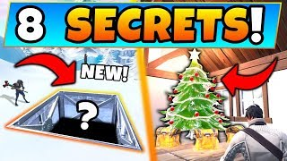 Fortnite: ONLY THE BEST KNOW These 8 Season 7 SECRETS! - Hidden Rift/More! (Battle Royale Gameplay)