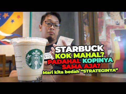 Kenapa Kopi Starbucks Harganya Mahal Tapi Laris Manis?