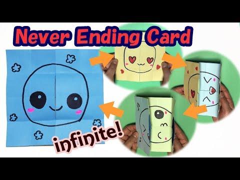 Easy Never Ending Card Tutorial | Endress Card Making Idea | Infinite Card Handmade DIY