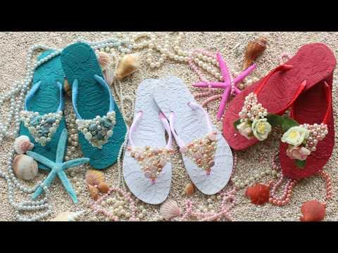 How to decorate flip flops for summer – DIY Summer Flip flops