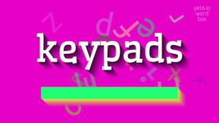 Download lagu How to saykeypads MP3