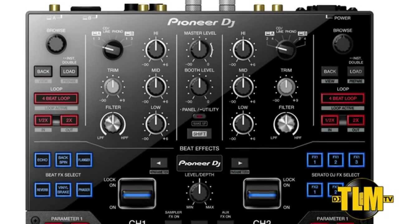 new pioneer dj djm s9 battle mixer for serato overview youtube. Black Bedroom Furniture Sets. Home Design Ideas