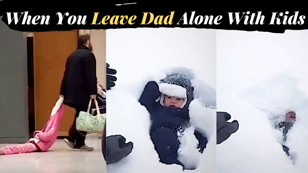 When You Leave Dad Alone With Kids | Fails of The Weeks | In English In Urdu | Facts Forever