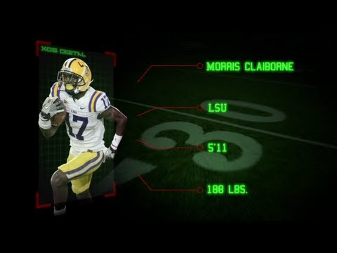 Morris Claiborne, CB, LSU - NFL Draft Preview
